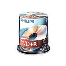 PC Dépôt Liquidation - DVD-R PQ de 100 PHILIPS